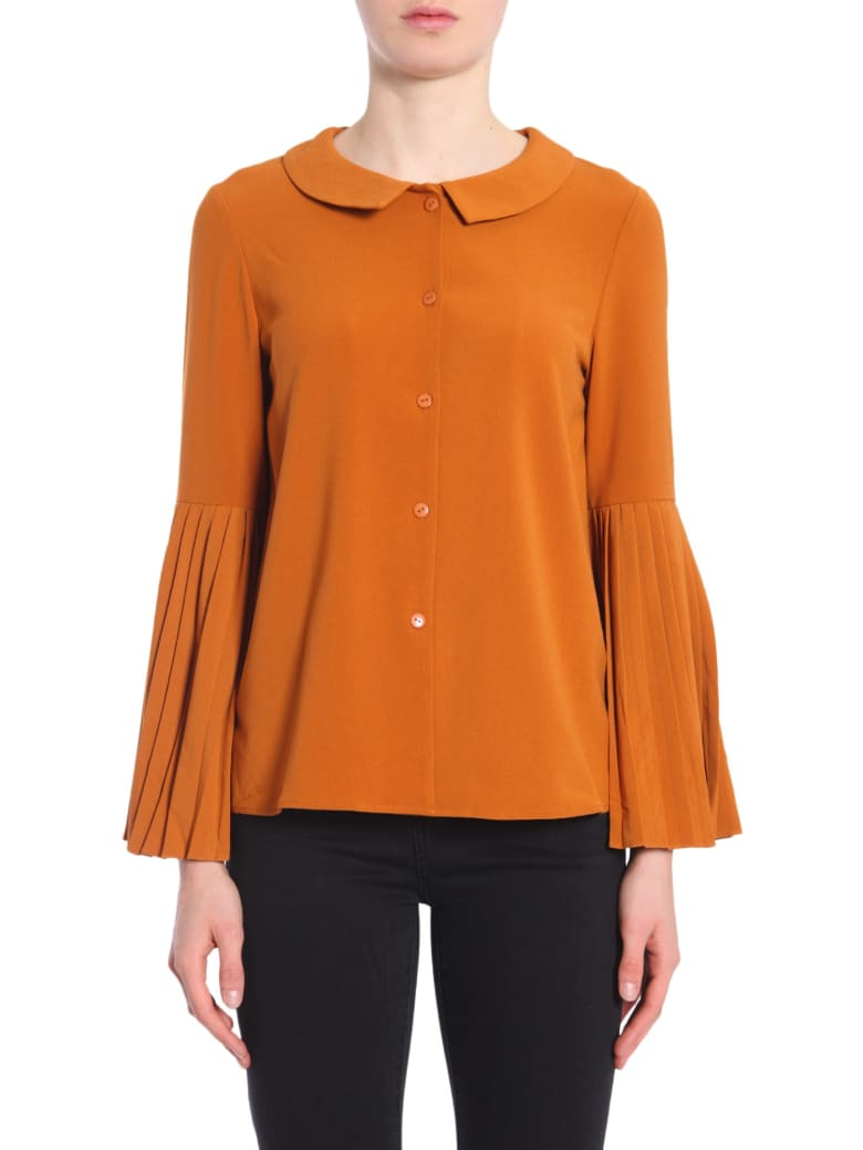 Jovonna Tosca Shirt - MARRONE