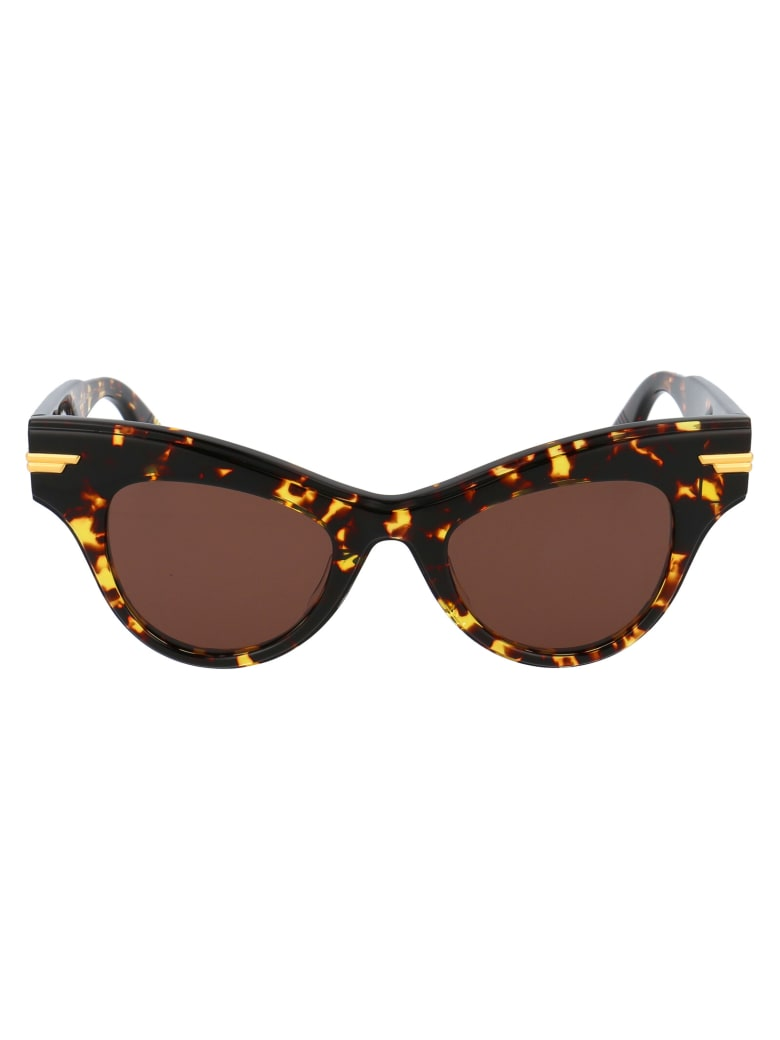 Bottega Veneta Bv1004s Sunglasses - 007 HAVANA HAVANA BROWN