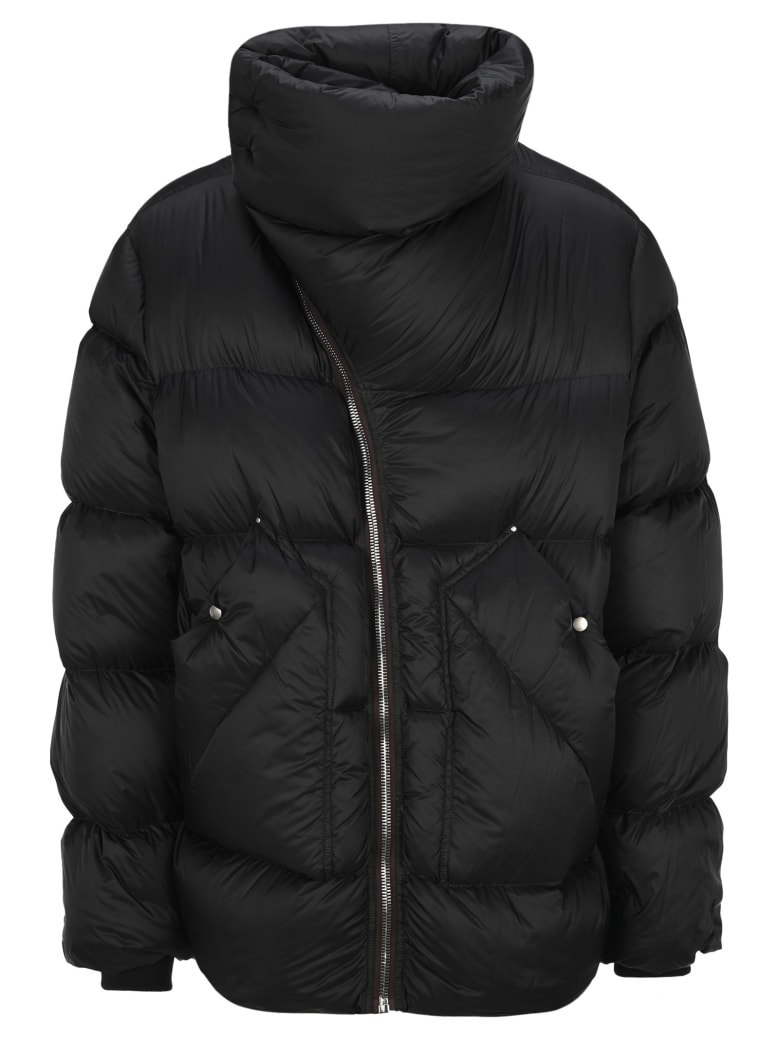 Rick Owens Mountain Duvet Down Jacket - BLACK