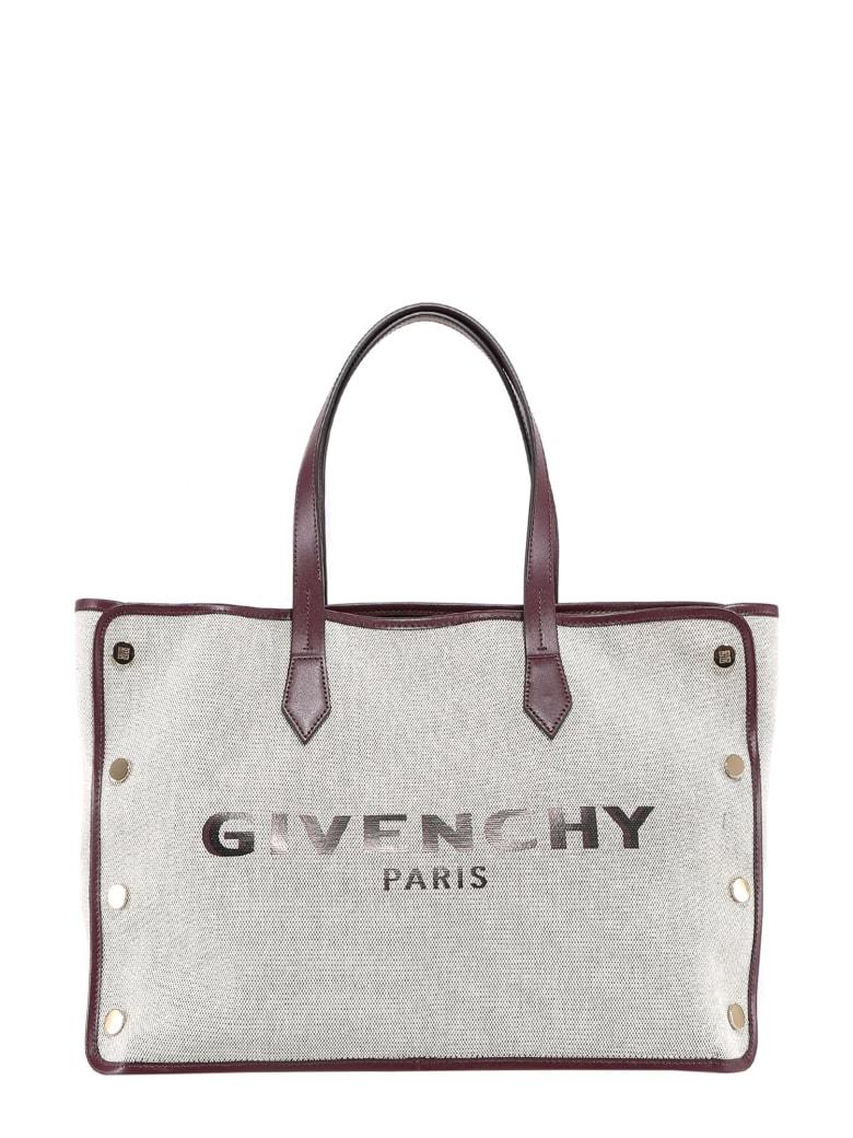 Givenchy Medium Cabas Shopper Tote Bag - Purple