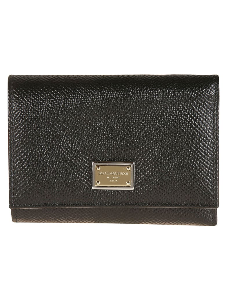 Dolce & Gabbana St. Dauphine Wallet - Black