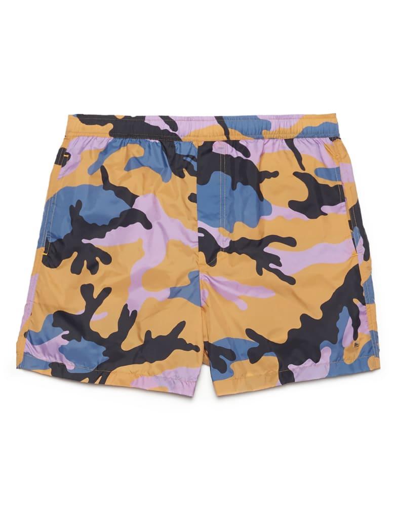 Valentino 'camouflage' Beach Shorts - Multicolor