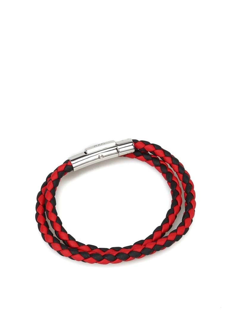 Tod's Bracelet - Nero+rosso scuro