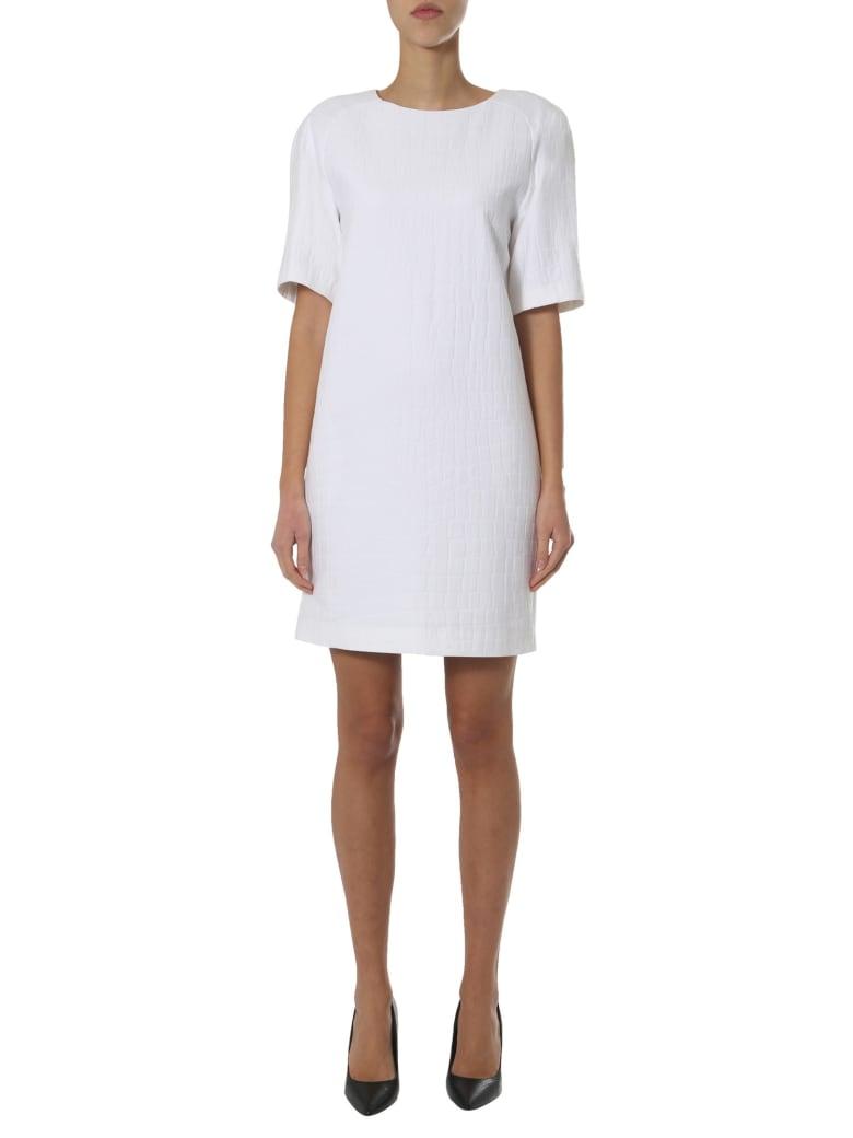 Boutique Moschino Midi Dress - BIANCO