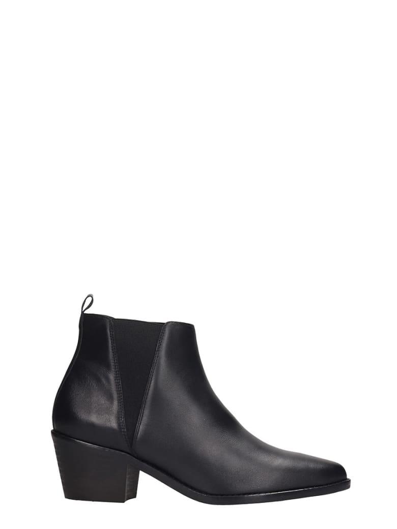 Castañer Gabriella Sandals In Black Leather - black