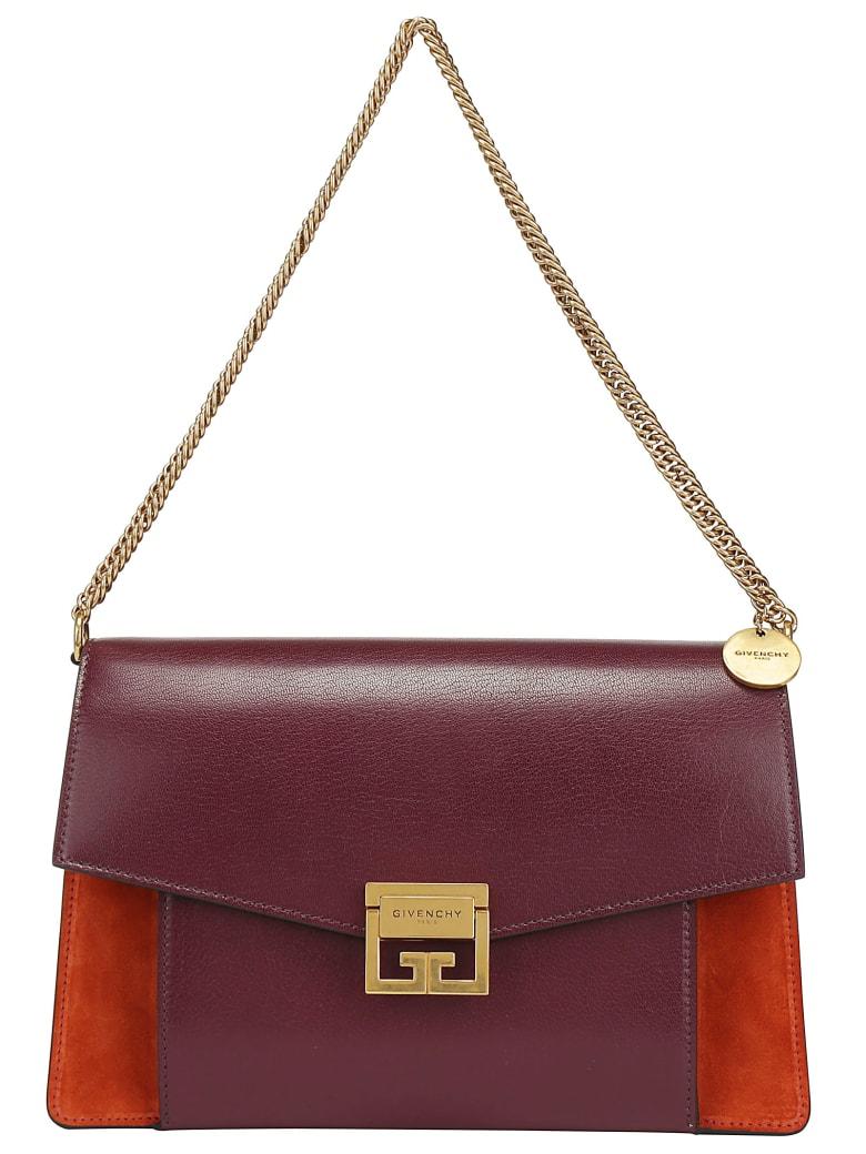 Givenchy Gv3 Medium Bag - Burgundy red