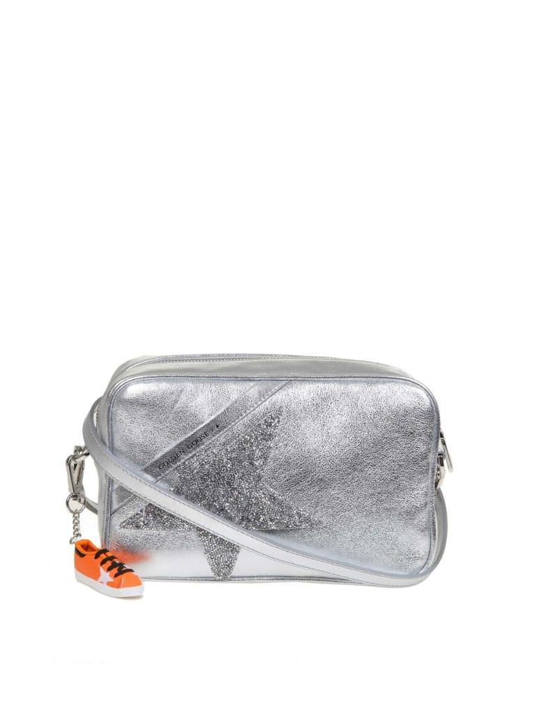 Golden Goose Star Bag Shoulder Bag In Laminated Leather - Silver