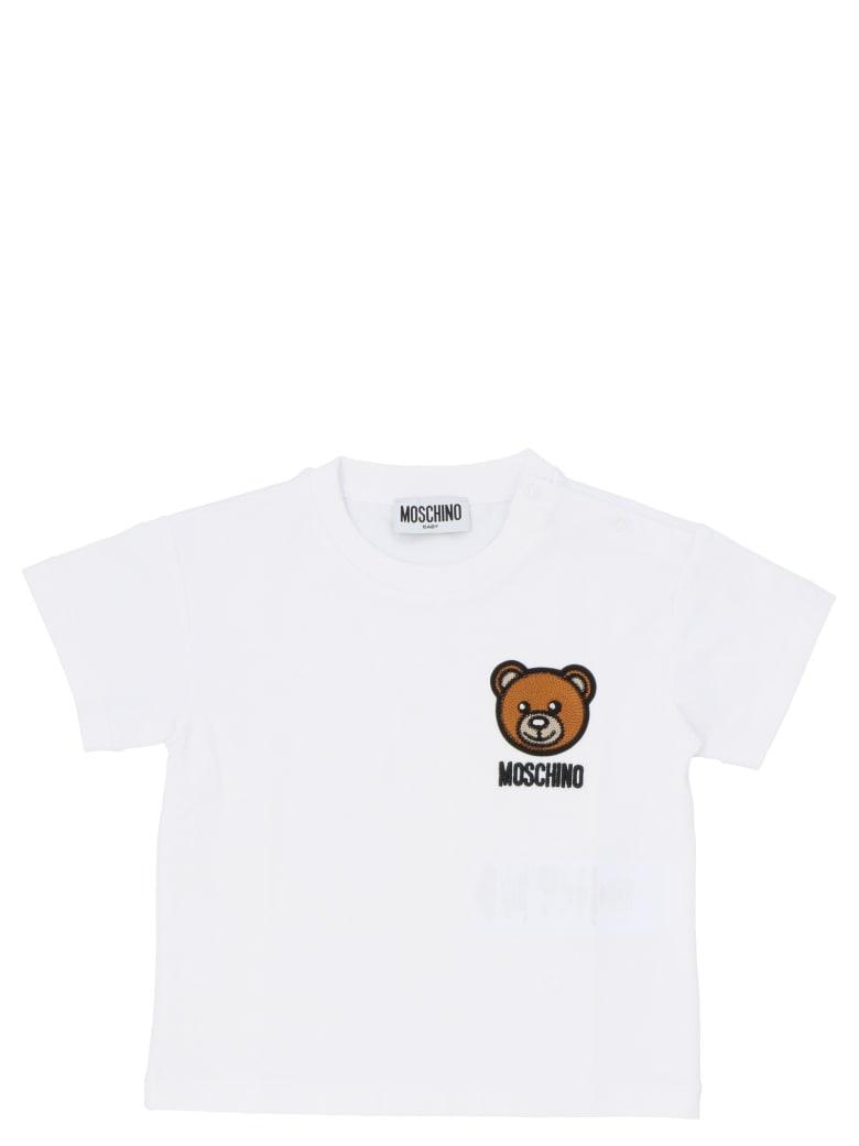 Moschino 'teddy' T-shirt - WHITE