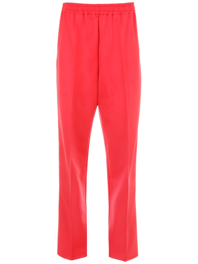Faith Connexion Oversized Kappa Joggers - RED (Red)