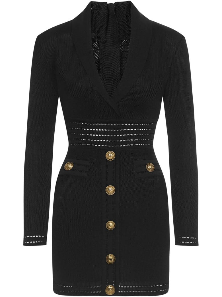 Balmain Paris Dress - Black