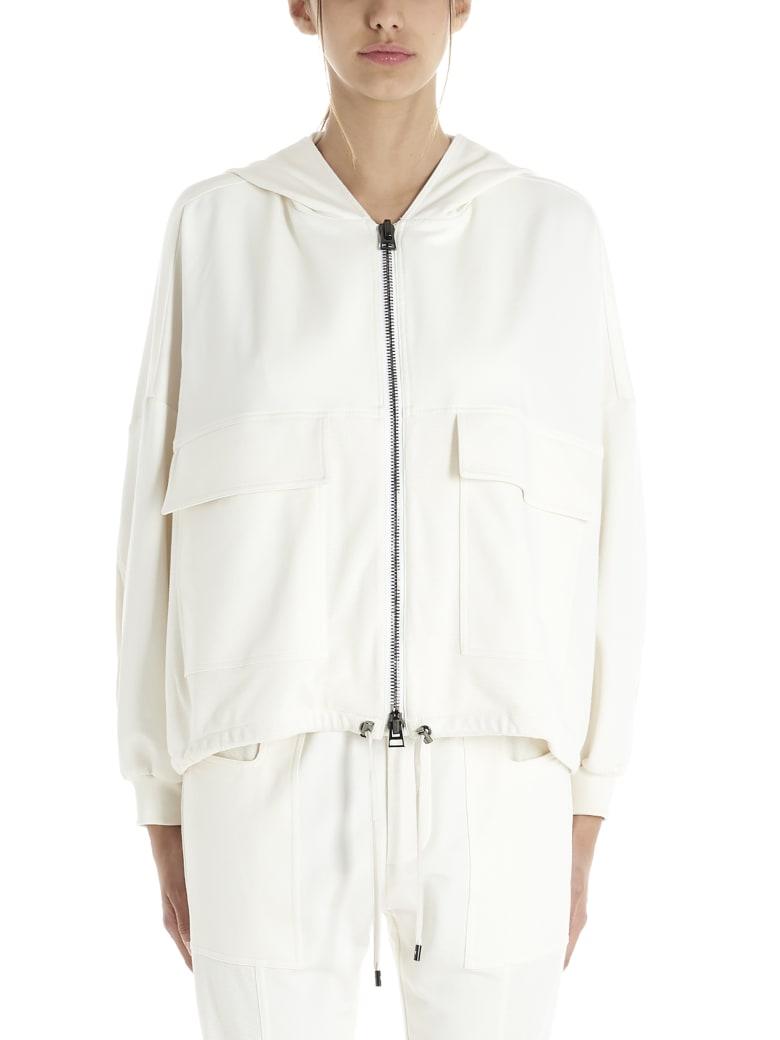 Tom Ford 'cut&sewn' Hoodie - White