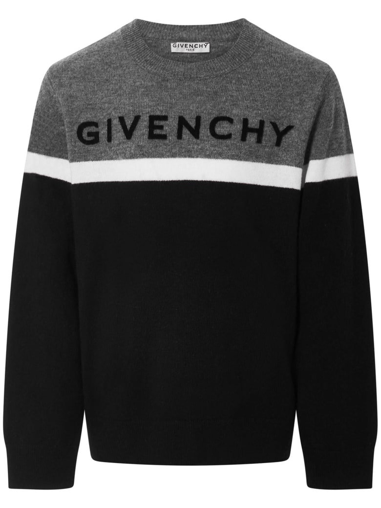 Givenchy Kids Sweater - Black/grey