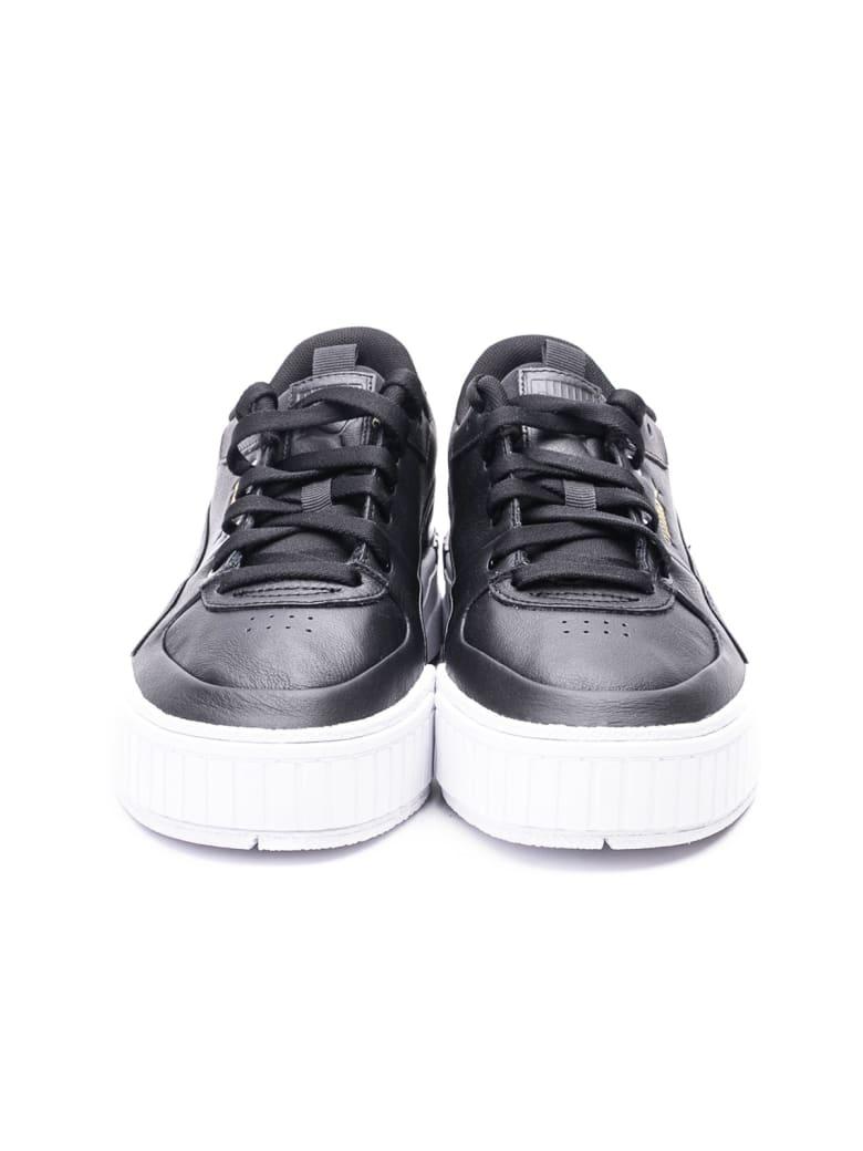 Puma  Cali Sport Wn's Leather Sneakers - BLACK - WHITE
