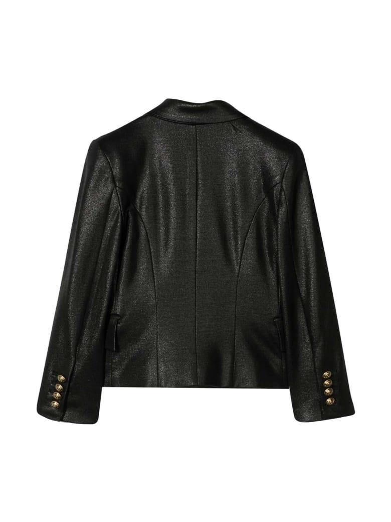 Balmain Ssingle-breasted Black Jacket - Nero
