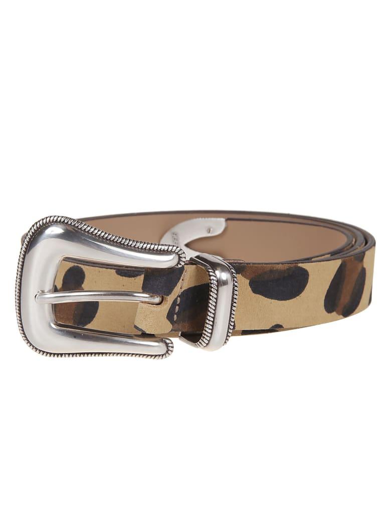 B-Low the Belt B. Low The Belt Leopard Belt - Tan/silver