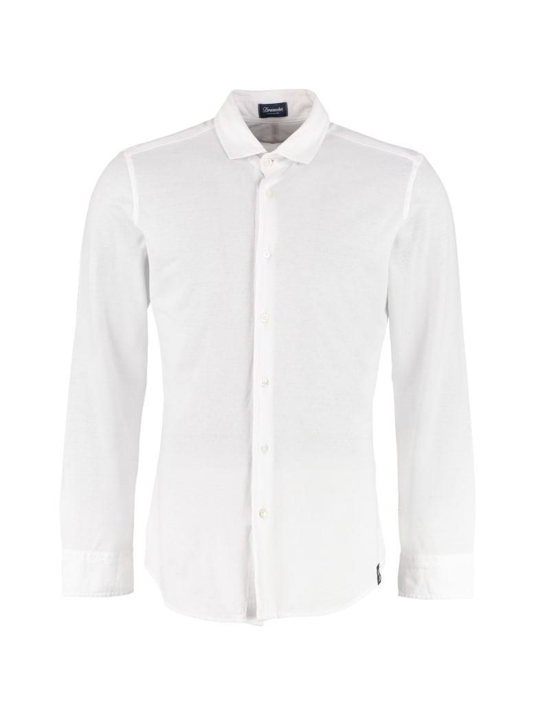 Drumohr Stretch Cotton Shirt - White