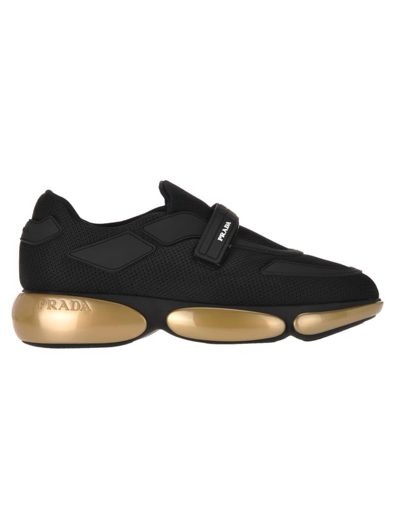 Prada Cloudbust Sneakers - BLACK GOLD
