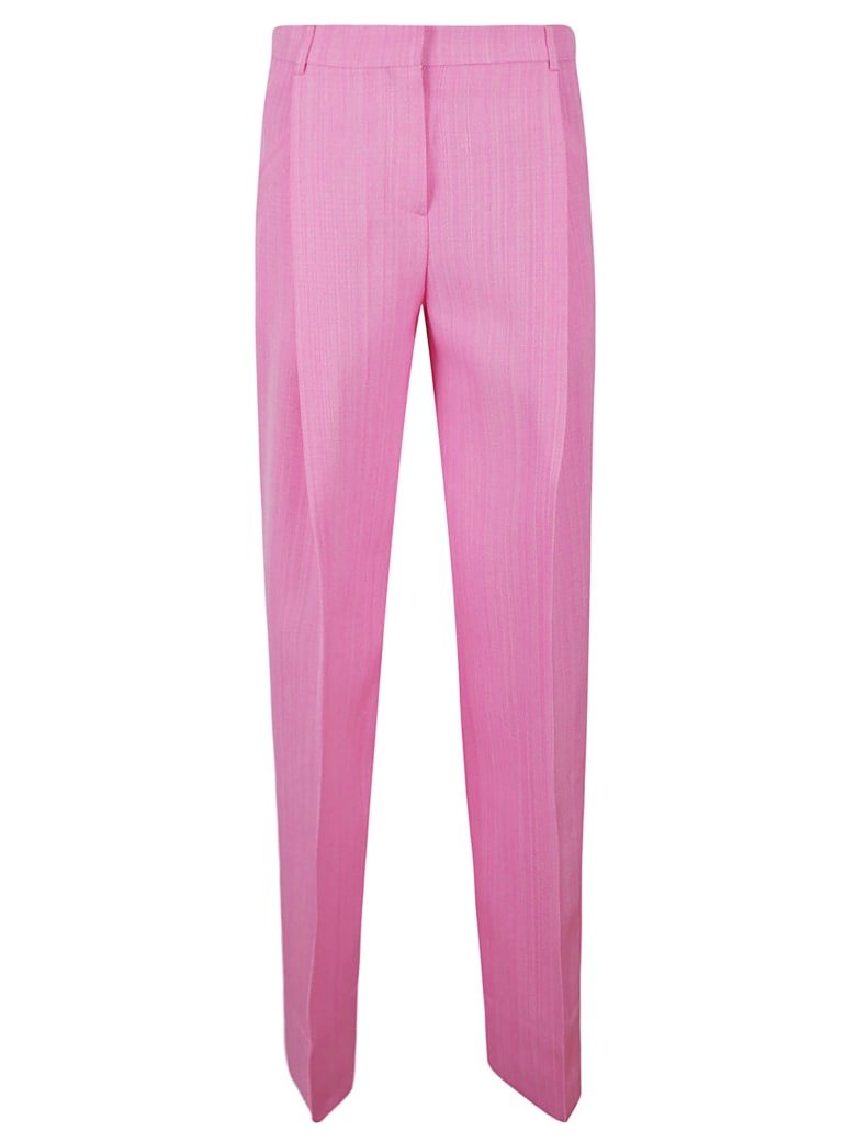 Jacquemus Long Straight Trousers - Pink