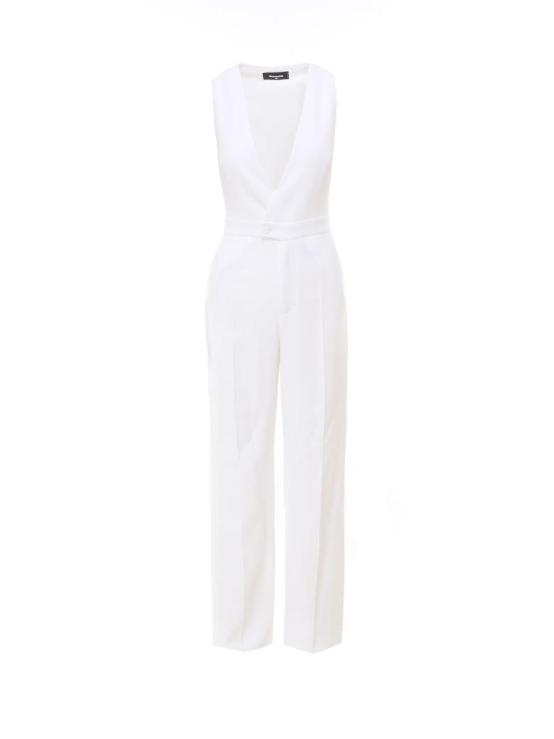 Dsquared2 Jumpsuit - White