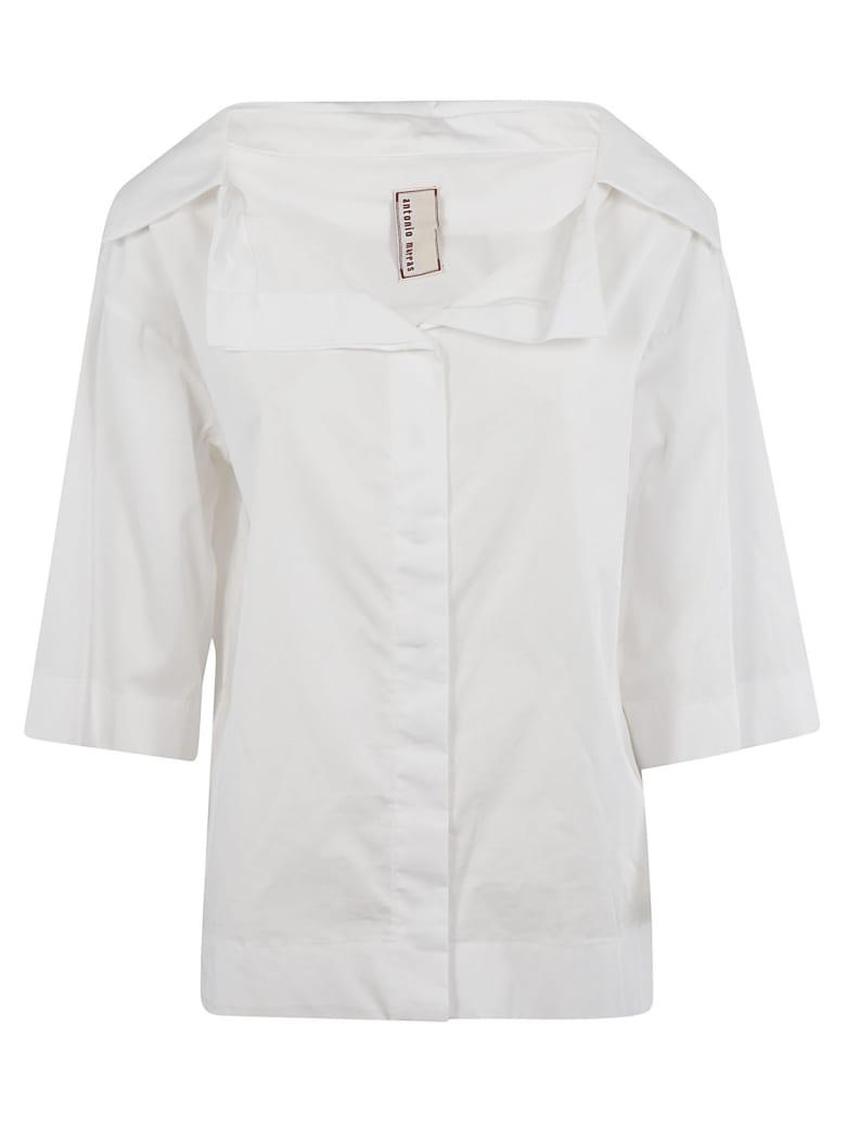 Antonio Marras Large Collar Shirt - White