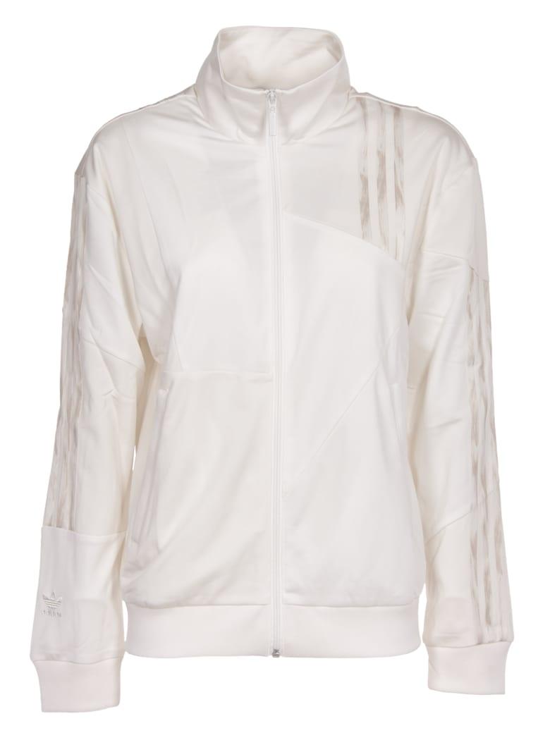 Adidas Originals White Adidas-danielle Cathari Firebird Jacket - white