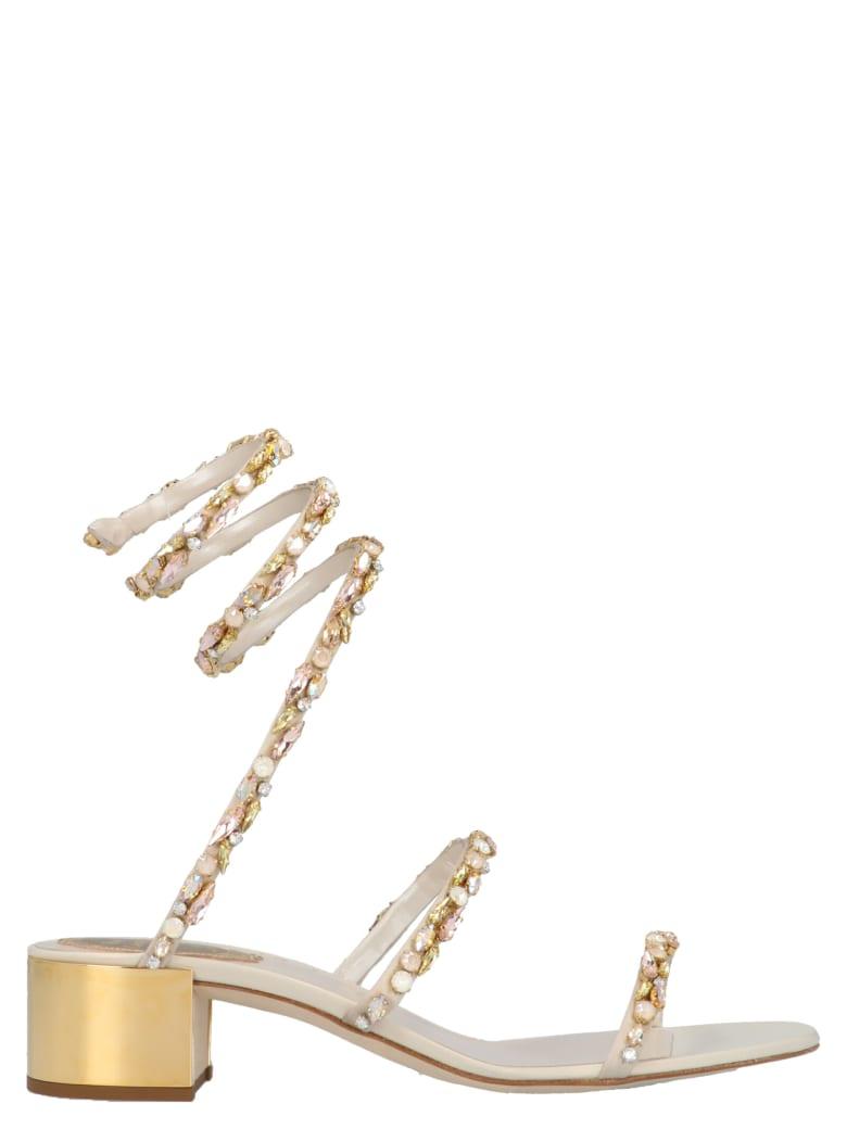 René Caovilla 'cleo' Shoes - Gold