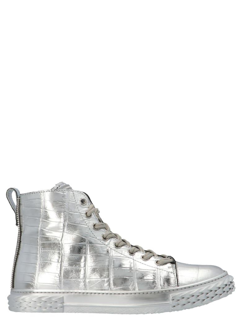 Giuseppe Zanotti 'blabber' Shoes - Silver