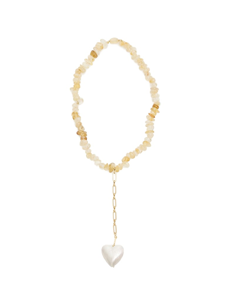 Timeless Pearly Quartz Necklace - VARIANTE ABBINATA (White)