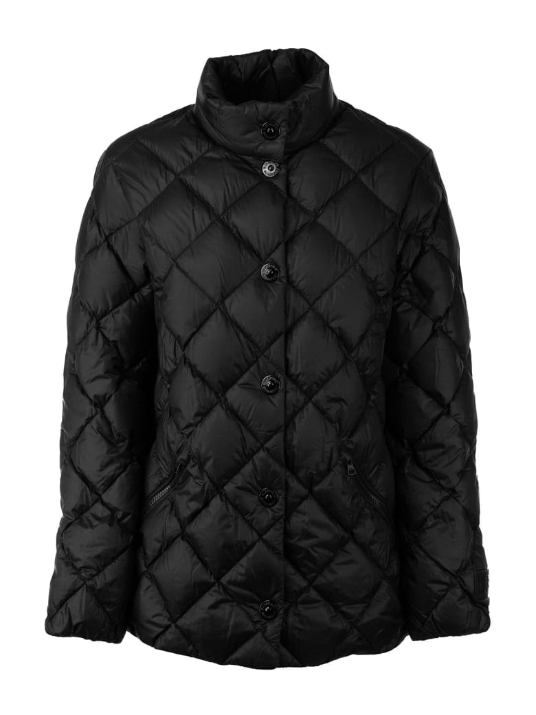 Burberry Oswestry - Diamond Quilted Down-filled Jacket - Black