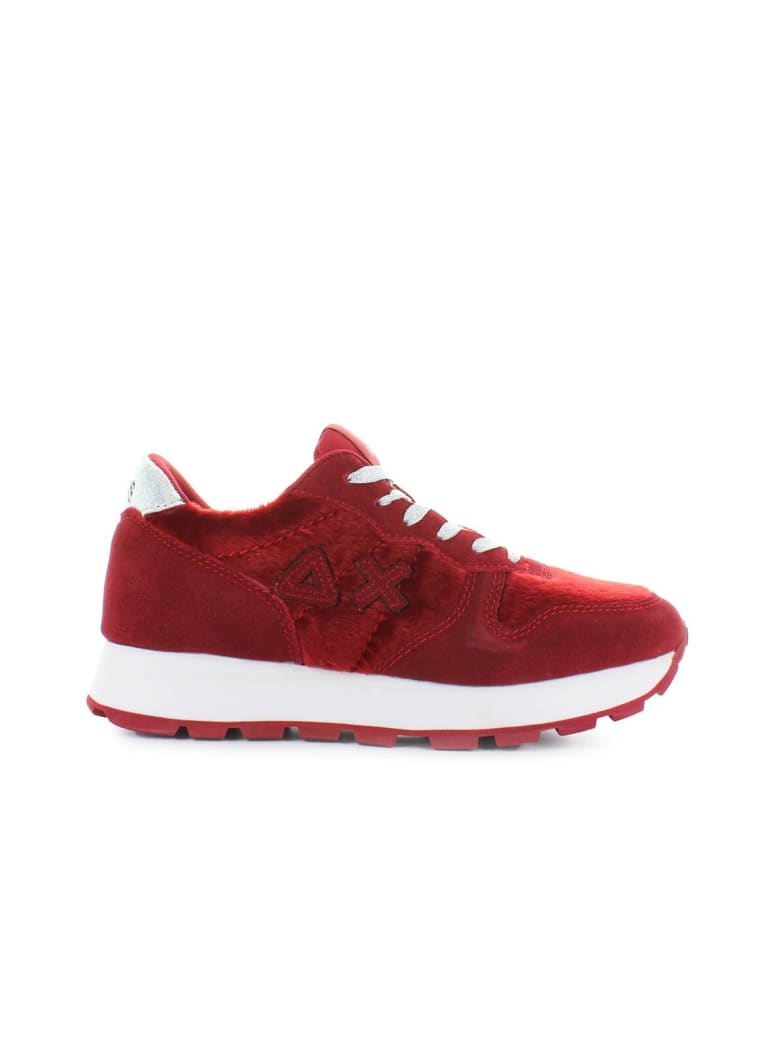 Sun 68 Sun68 Red Ally Horse Body Sneaker - Rosso (Red)