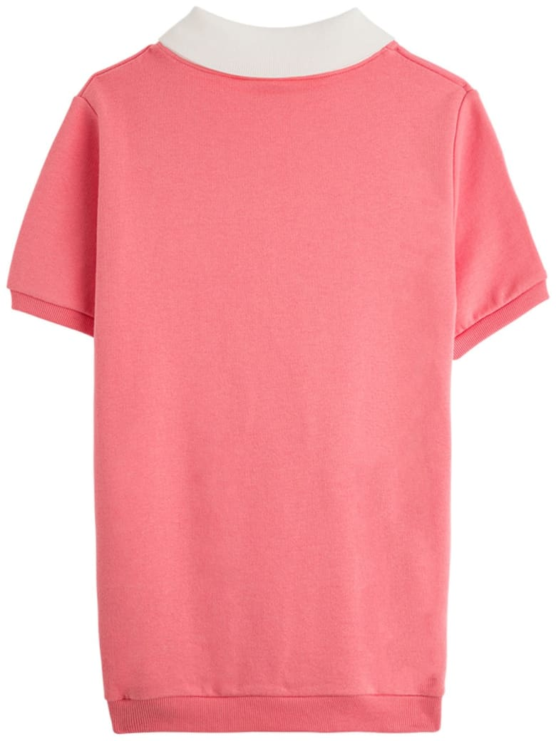 Gucci Pink Jersey Dress With Gucci Disco Print - Pink