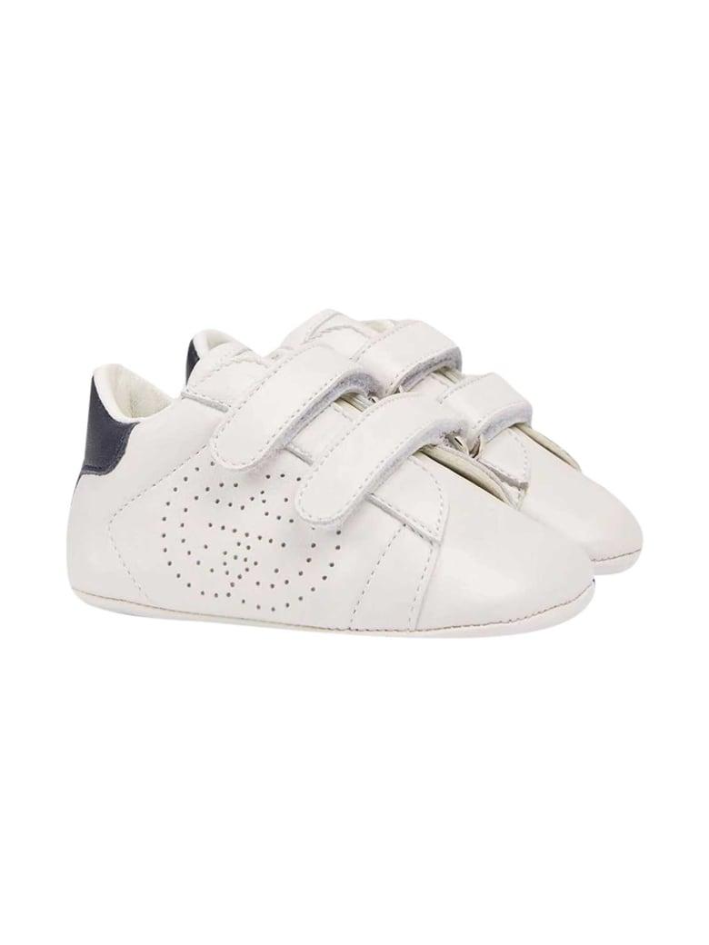 Gucci White Shoes - Bianco/blu