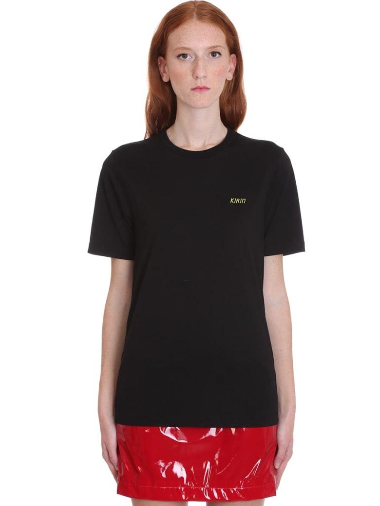 Kirin T-shirt In Black Cotton - black