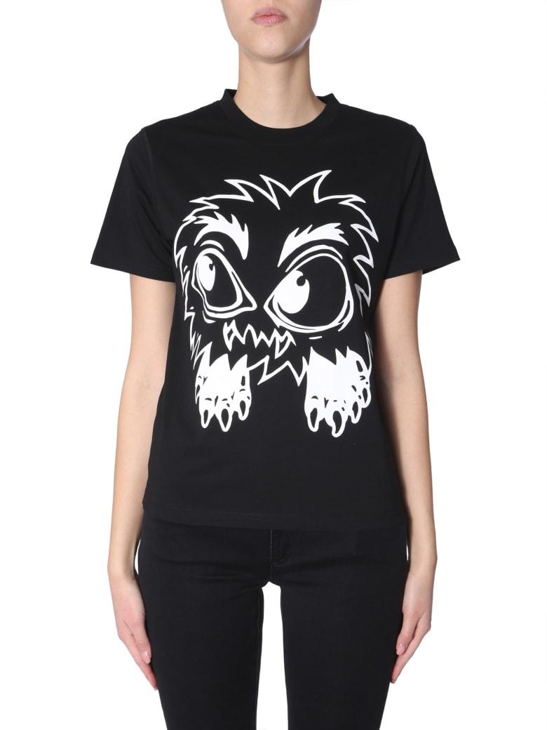 McQ Alexander McQueen Round Neck T-shirt - NERO