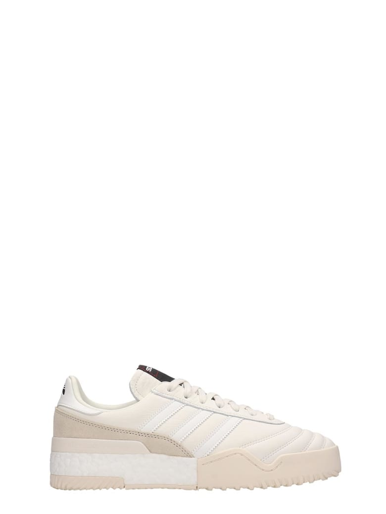 Adidas Originals by Alexander Wang Bball Soccer Sneakers - white