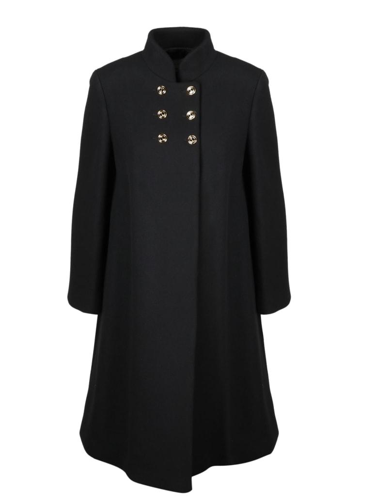 Gucci Gg Coat - Black