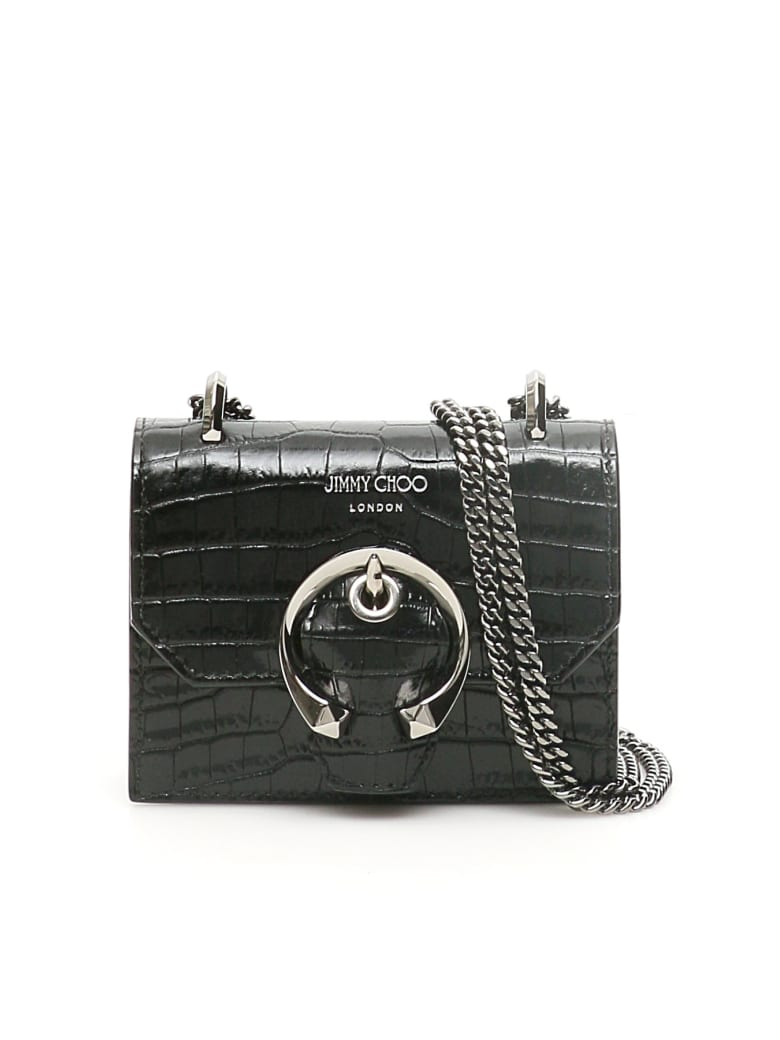 Jimmy Choo Mini Paris Mini Bag With Monogram