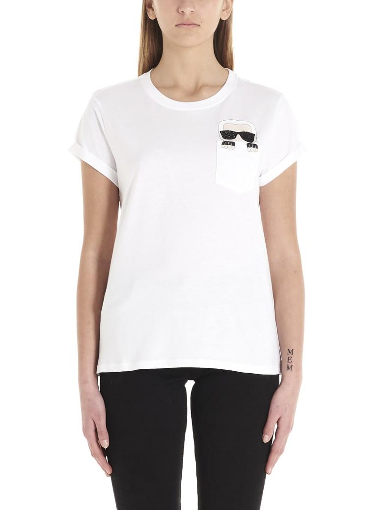 Karl Lagerfeld 'karl' T-shirt - White