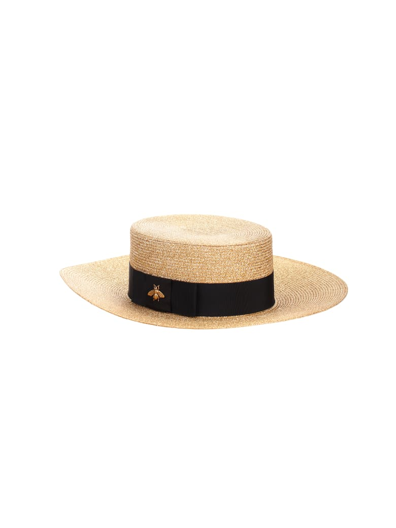 Gucci Woven Straw Hat by Gucci