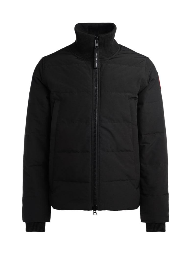 Canada Goose Woolford Black Jacket - NERO