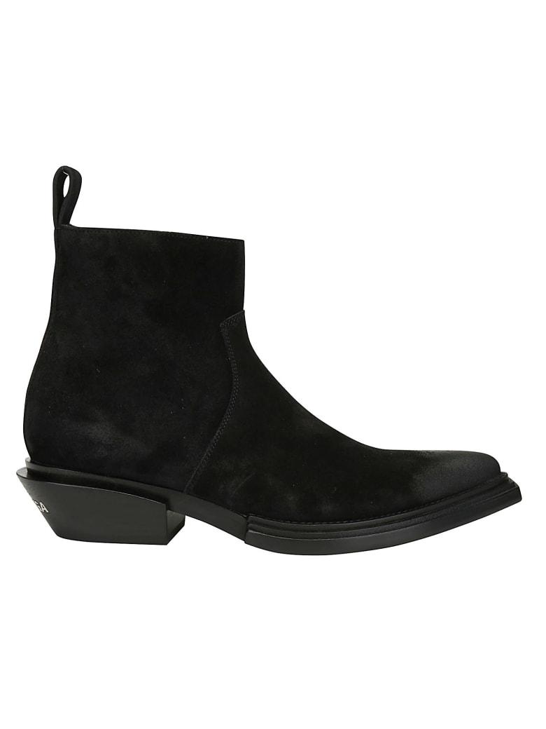 Balenciaga Santiag Boots - Black