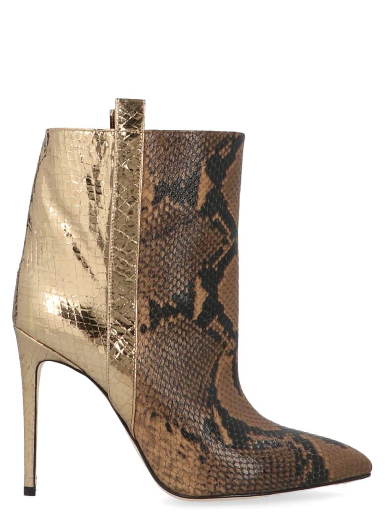 Paris Texas 'snake Print Natural' Shoes - Multicolor