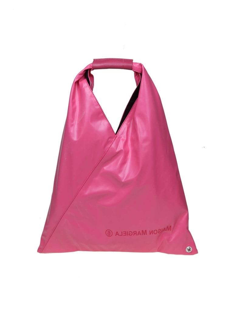 MM6 Maison Margiela Japanese Leather Bag Fucsia Color - Pink