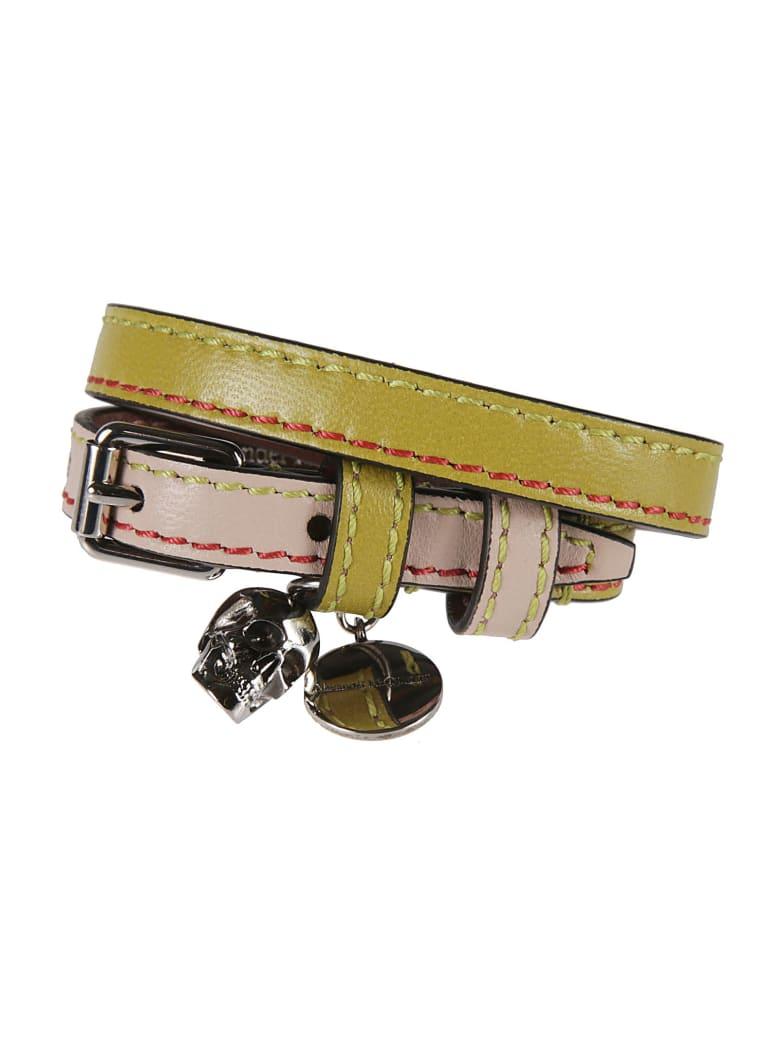 Alexander McQueen Double-wrap Bracelet - Verde