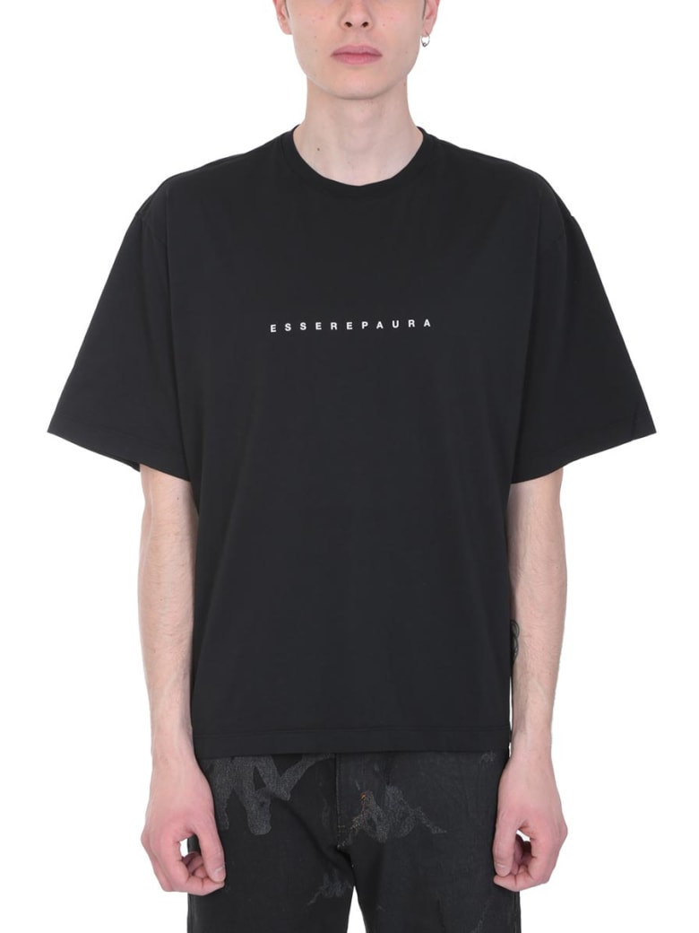 Danilo Paura Black Cotton T-shirt - black