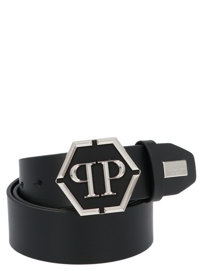 Philipp Plein 'belt Plein Star' Belt - Black