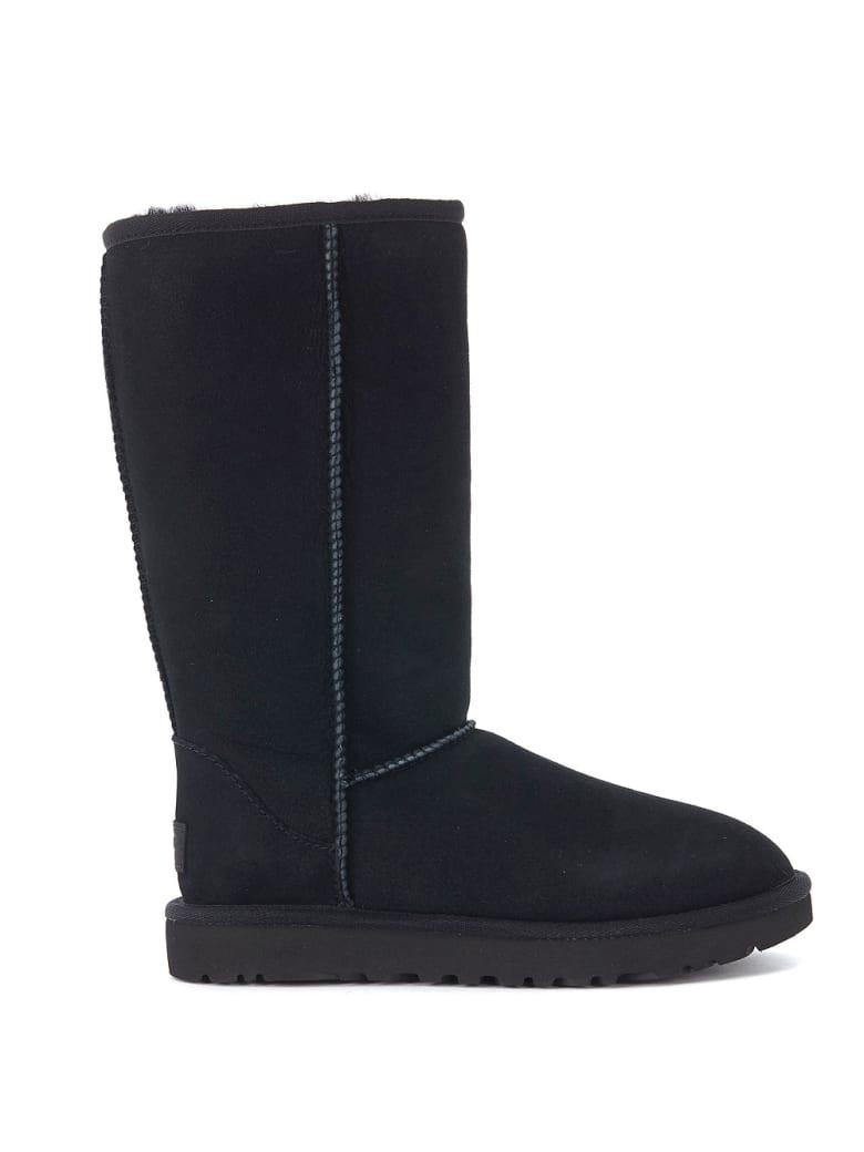 UGG Classic Ii Black Sheepskin Boots. - NERO