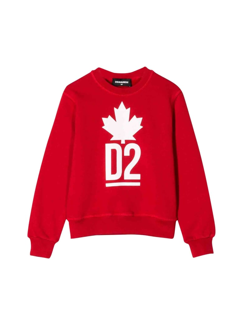 Dsquared2 Red Sweatshirt - Unica