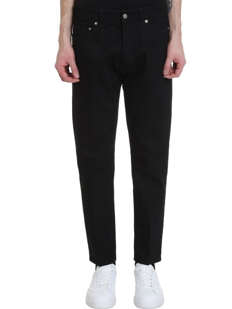 Golden Goose Lit Jeans In Black Denim - Nero