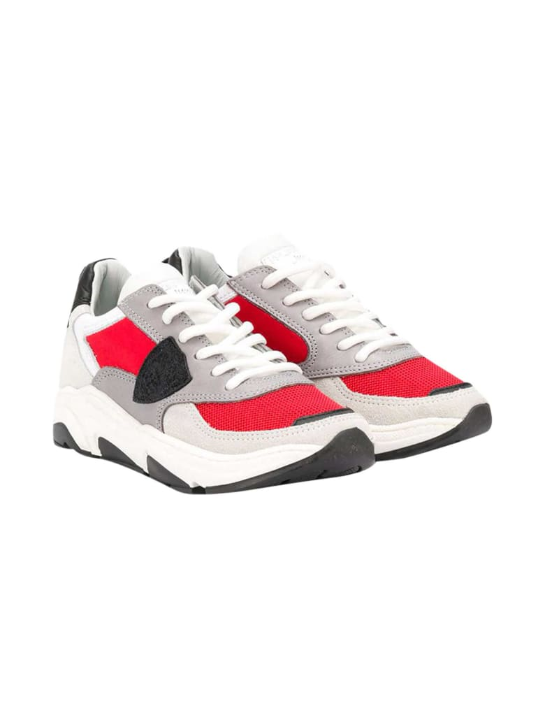 Philippe Model Eze Sneakers Teen - Rosso